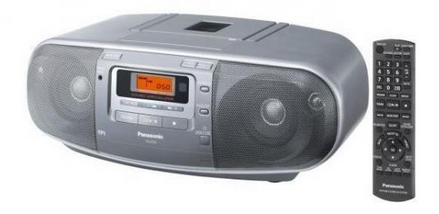 Panasonic RX-D50 Digital 8W Silber CD-Radio