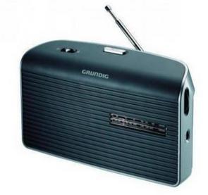 Grundig Music 60 Schwarz-Silber Design-Radio