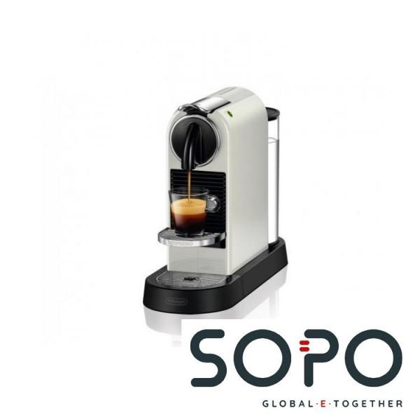 DeLonghi Citiz EN 167.W Freistehend Vollautomatisch Pad-Kaffeemaschine 1l Weiß