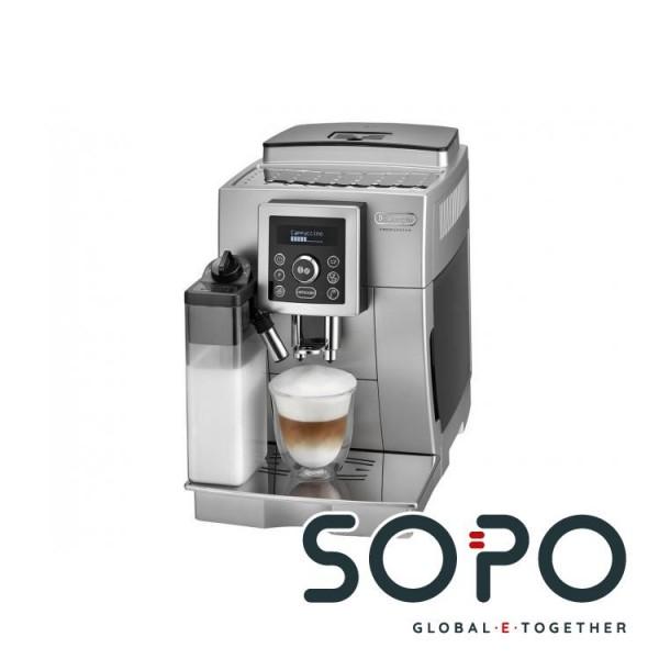 DeLonghi ECAM 23.460.S Freistehend Vollautomatisch Espressomaschine 1.8l Silber Kaffeemaschine