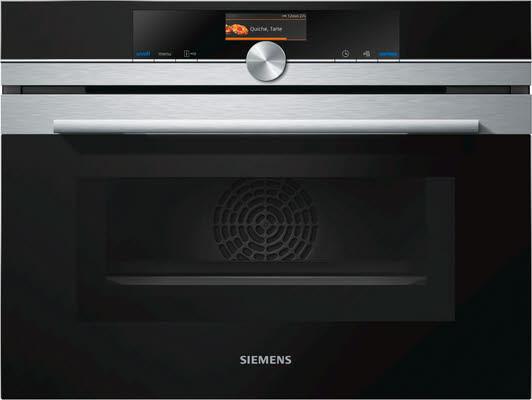 Siemens Backofen CM676G0S1 Einbau Mikrowellenfunktion