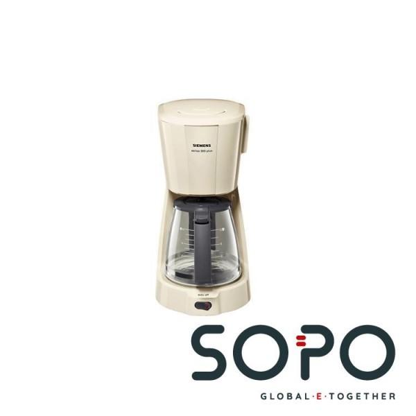 Siemens TC3A0307 Freistehend Filterkaffeemaschine 1l 15Tassen Grau Kaffeemaschine