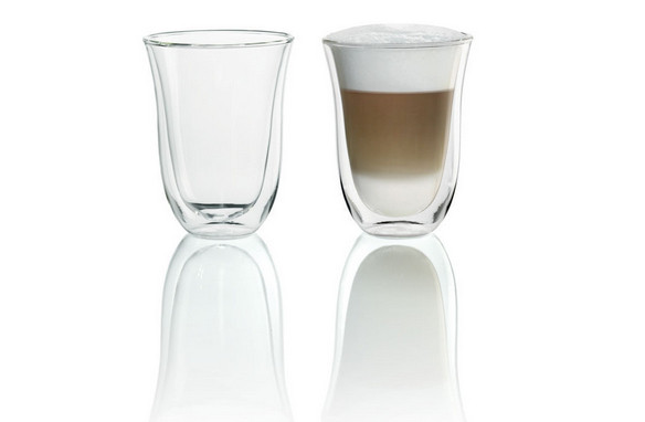 DeLonghi Latte-Macchiato Gläser 5513214611 2 Stk. Packung