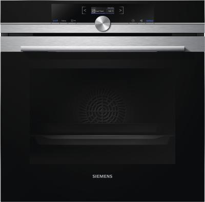 Siemens iQ700 HB672GBS1 Einbau-Backofen Elektrischer Ofen 71l A+ Schwarz, Edelstahl