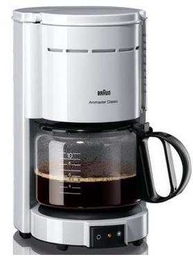 Braun Filterkaffeemaschine KF47 1 weiß
