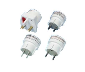 Vivanco RS 4 W Weiß Elektrischer Netzstecker