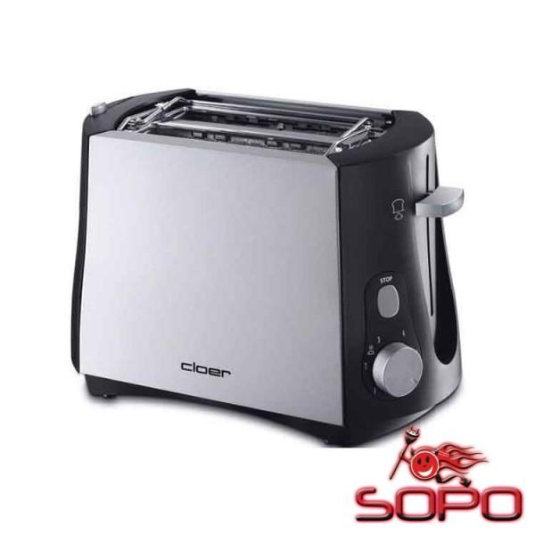 Cloer Toaster 3410 2Scheibe(n) 825W Toaster