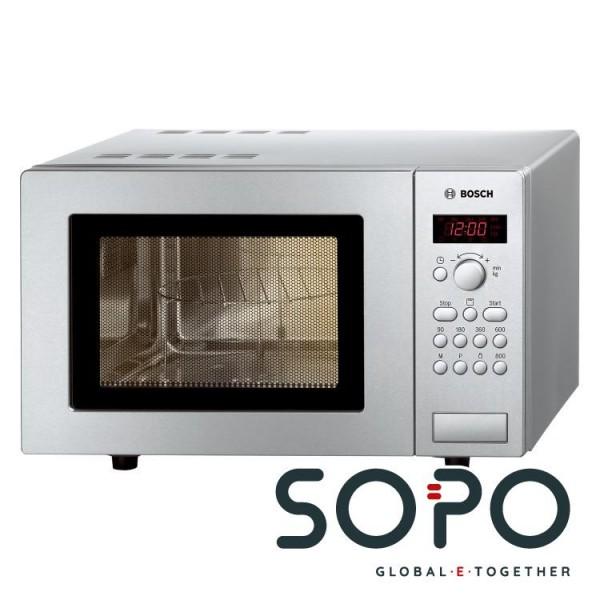 Bosch HMT75G451 Arbeitsfläche 17l 800W Silber Mikrowelle