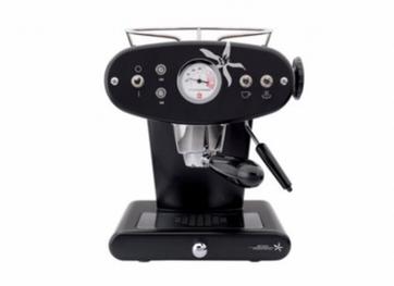 Illy Francis Francis X1 iperEspresso Kaffeemaschine, schwarz