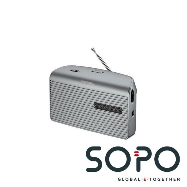 Grundig Music 60 Persönlich Analog Silber Radio