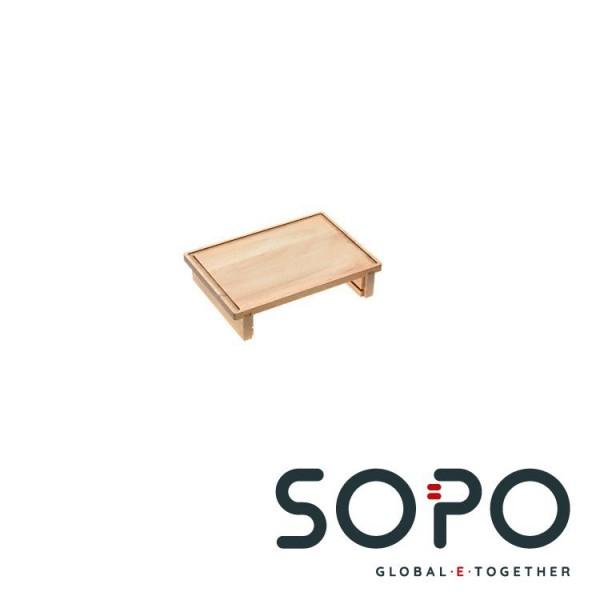 Miele DGSB 2 Rechteckig Holz Holz Küchen-Schneidebrett