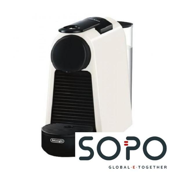 DeLonghi Essenza Mini EN 85.W Freistehend Vollautomatisch Pad-Kaffeemaschine 0.6l Schwarz, Weiß Kaff
