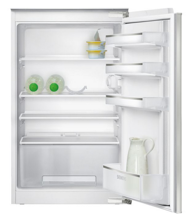 Siemens iQ100 KI18RV62 Einbau-Kühlschrank, Flachscharnier-Technik, 88 x 56 cm, 150 l, A++, weiß