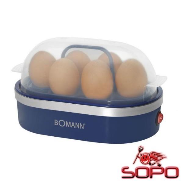 Bomann EK 5022 CB 6eggs 400W Blau Eierkocher