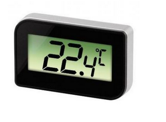 Hama 00111357 Innenraum Electronic environment thermometer Weiß Außenthermometer