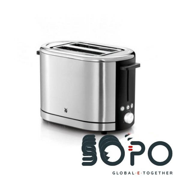 WMF LONO 2Scheibe(n) 900W Schwarz, Edelstahl Toaster
