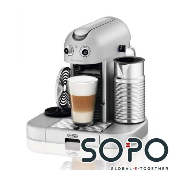 DeLonghi Gran Maestria EN 470.SAE Freistehend Halbautomatisch Pad-Kaffeemaschine 1.4l 14Tassen Plati