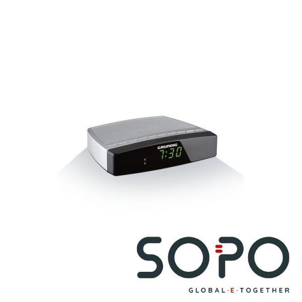 Grundig Sonoclock 600 Uhr Schwarz, Silber Radio