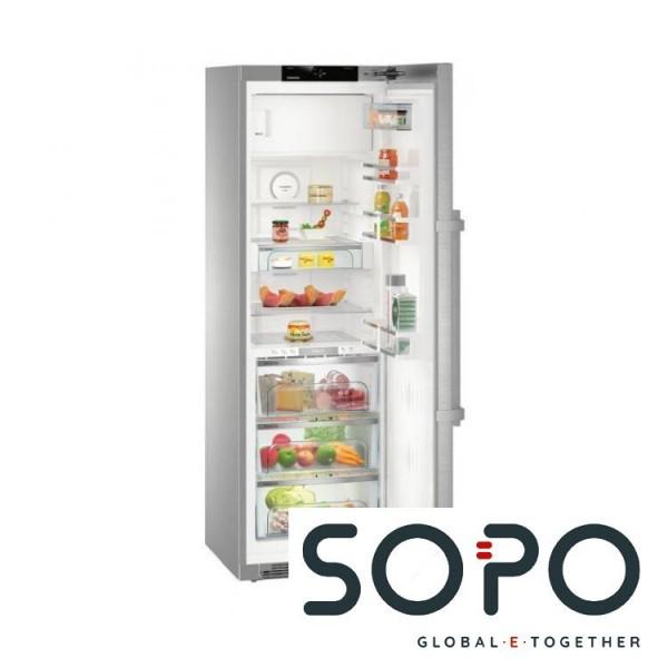 Liebherr KBPes 4354 Premium BioFresh Freistehend 338l A+++ Edelstahl Kühlschrank  Mit Gefrierfach