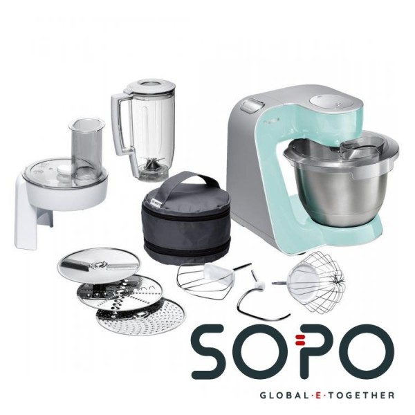 Bosch MUM58020 1000W 3.9l Weiß Küchenmaschine
