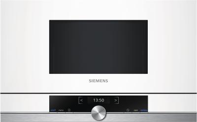 Siemens Mikrowelle BF634LGW1 Einbau 60cm