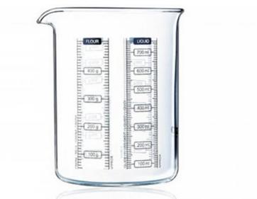 Pyrex Messbecher, 0.75 l, Glas, 7070.54130