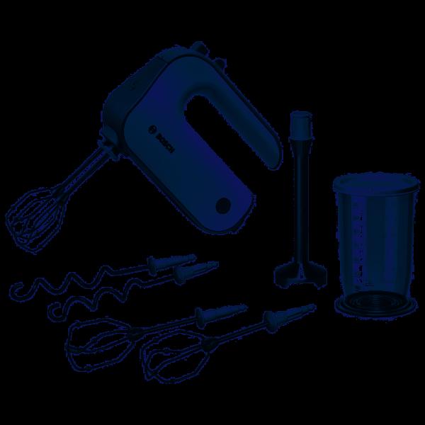 Bosch MFQ4075DE Handmixer 550W Silber, Weiß Mixer