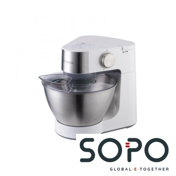 Kenwood KM282 900W 4.3l Metallisch, Weiß Küchenmaschine
