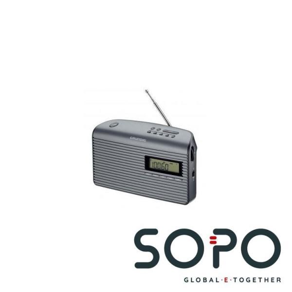 Grundig Music 61 Tragbar Digital Schwarz, Graphit Radio