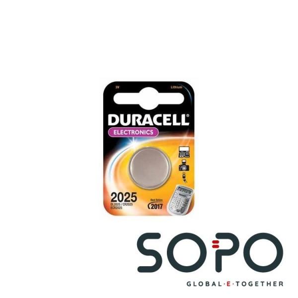 Duracell CR2025 Lithium 3V Nicht wiederaufladbare Batterie
