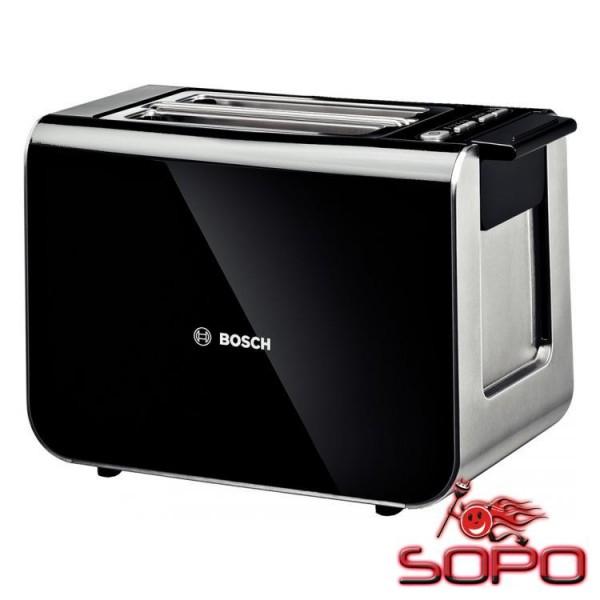 Bosch TAT8613 2Scheibe(n) 860W Schwarz Toaster