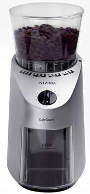Nivona CafeGrano 130 100W Schwarz, Silber