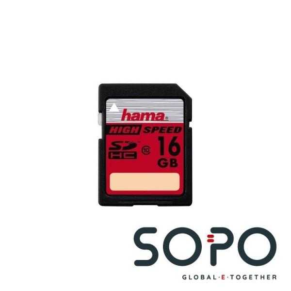 Hama SDHC-Karte,16GB,Class10,