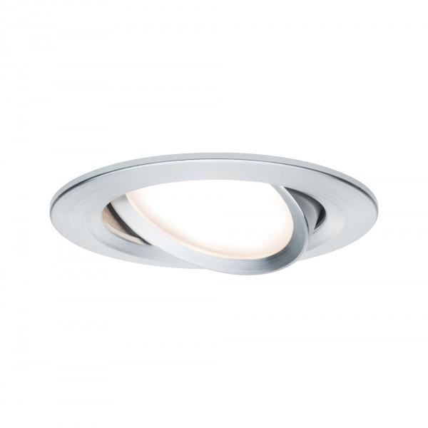 Paulmann LED 1x6,8W A, Prem EBL Coin Slim dim rd schw,