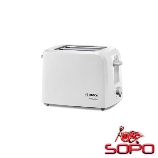 Bosch TAT3A011 2Scheibe(n) 980W Weiß Toaster