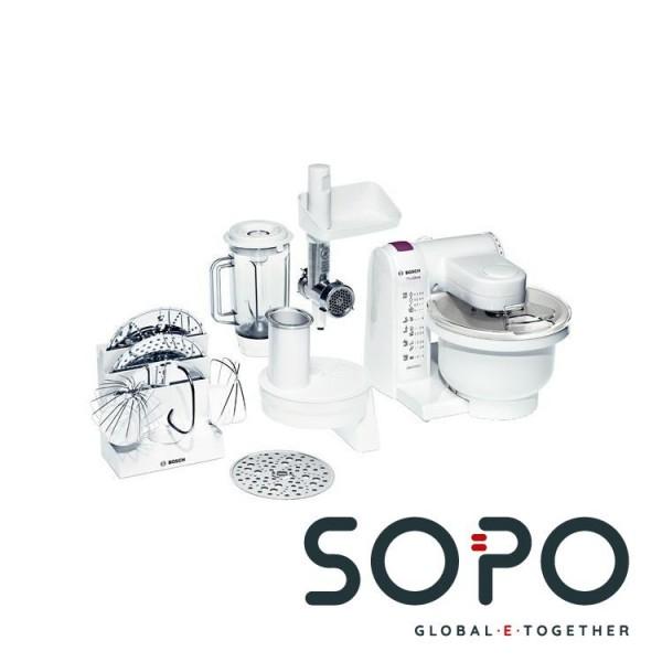 Bosch MUM4657 550W Weiß Küchenmaschine