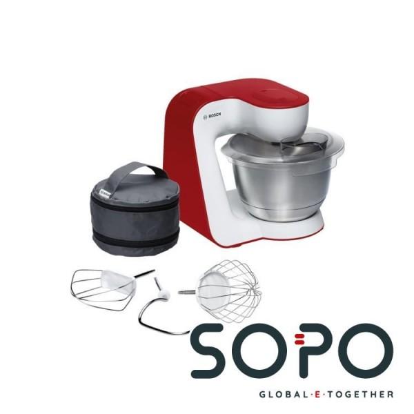 Bosch MUM5 StartLine MUM54R00 900W 3.9l Rot, Weiß Küchenmaschine