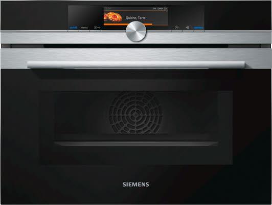 Siemens Backofen CM678G4S1 Einbau Kompacktbackofen Mikrowellenfunktion