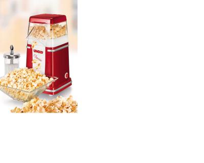 Unold Classic 900W Rot, Silber, Weiß Popcornmaschine