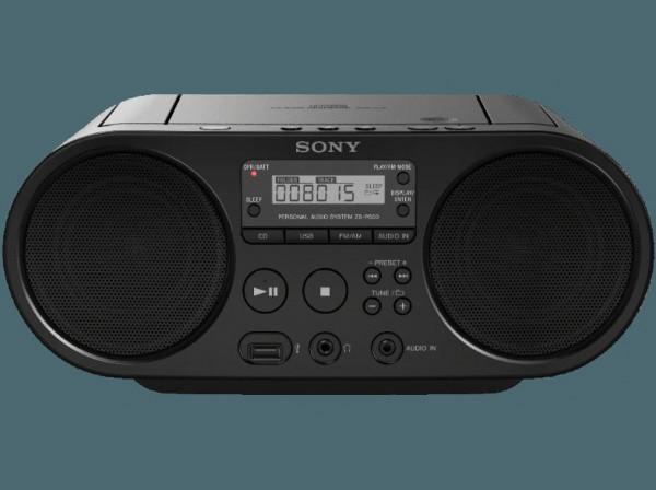 Sony CD-Radio,ZSPS50SCH, schwarz, 0849686