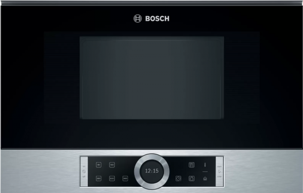 Bosch Mikrowelle BFR634GS1 Einbau 60cm