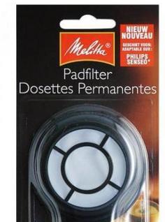 Melitta Pad Filter 2 Stk, wiederverwendbar und spülmaschinenfest