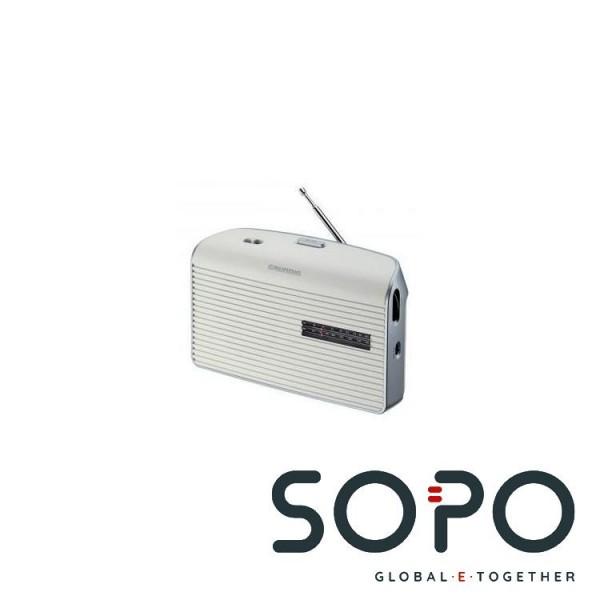 Grundig Radio Music 60 weiss-silber