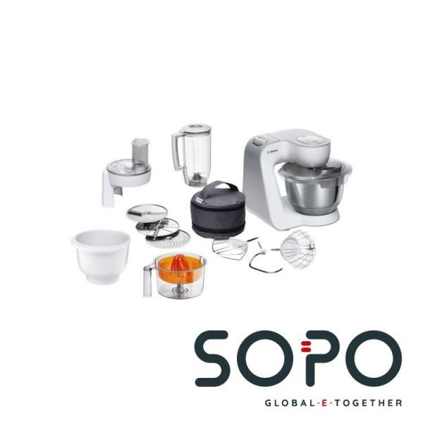 Bosch MUM5 CreationLine MUM58243 1000W 3.9l Weiß Küchenmaschine