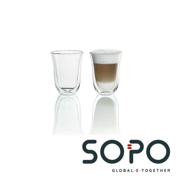 DeLonghi , Latte-Macchiato Gläser 2 Stk. Packung