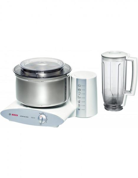 Bosch MUM6N21 1000W 2l Edelstahl, Weiß Küchenmaschine