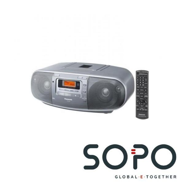 Panasonic RX-D50 Digital 8W Silber CD-Radio