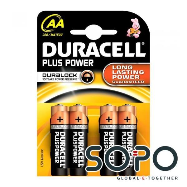 Duracell MN 1500-4STK LR6 AA MIGNONZELLE 1,5V POWER PLUS