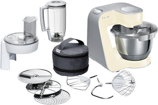 Bosch MUM58920 1000W 3.9l Grau, Edelstahl Küchenmaschine