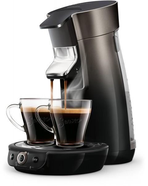 Philips HD6566 50, Senseo NEW Viva Café mit Aroma Plus inkl. Crema Plus Kaffeestärkewahl für 1 ode